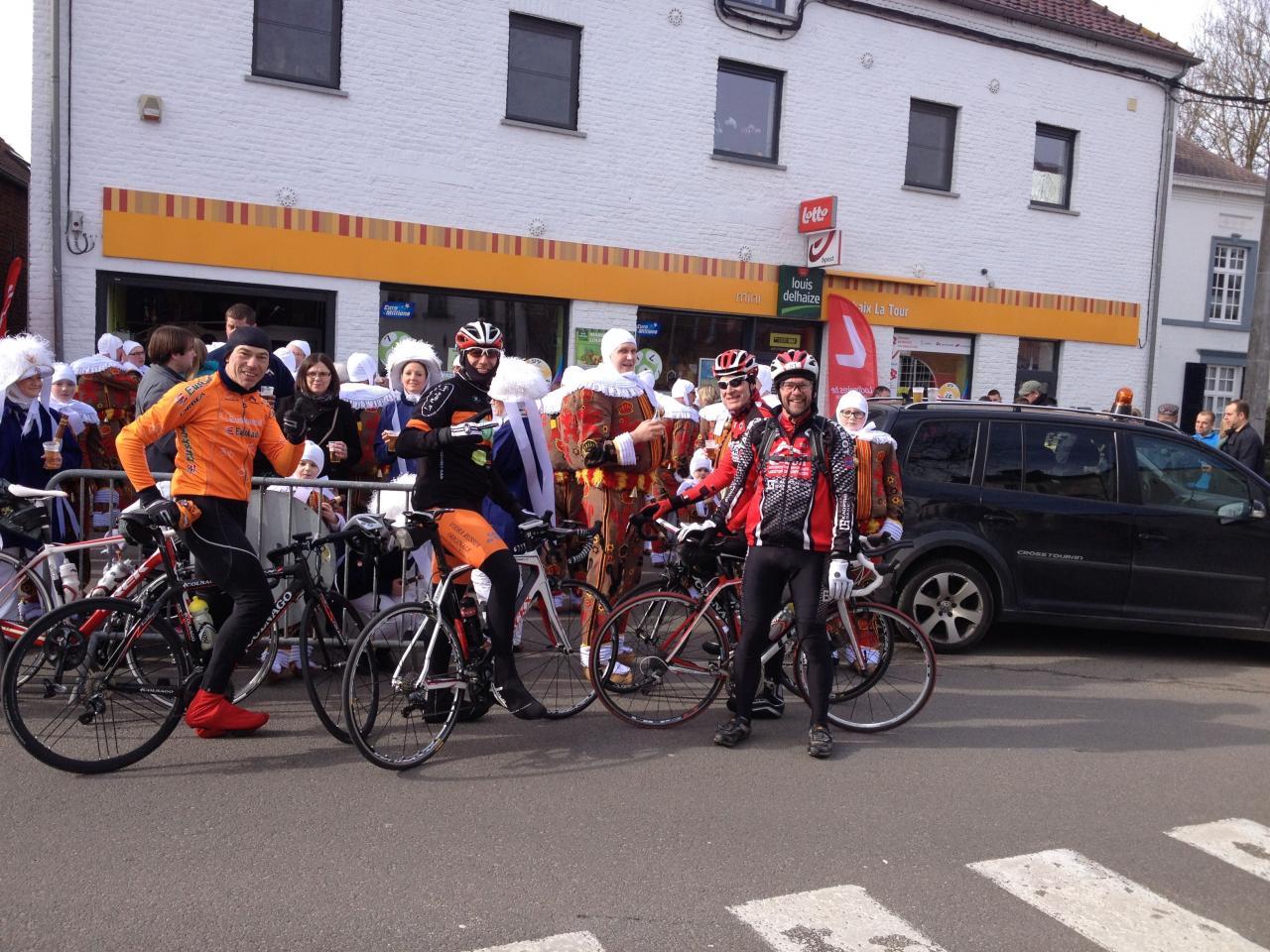 Visite aux Cyclos de Bomerée