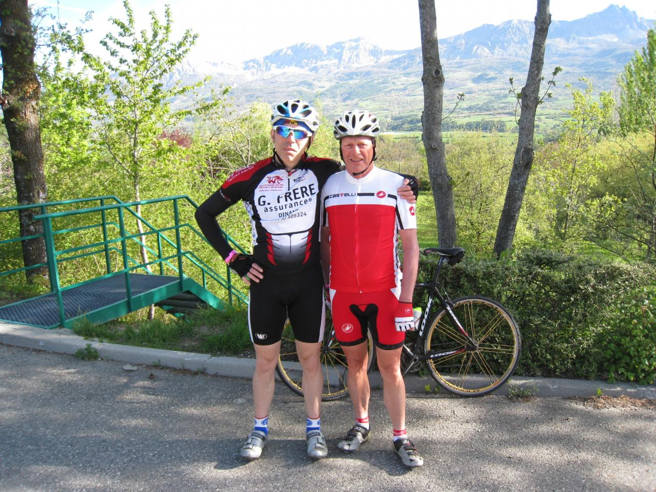 Michel et Pierre dans les Hautes-Alpes